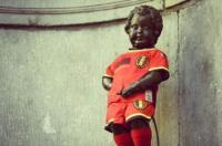 manneken pis maillot belge football