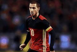 eden hazard joueur football belgique